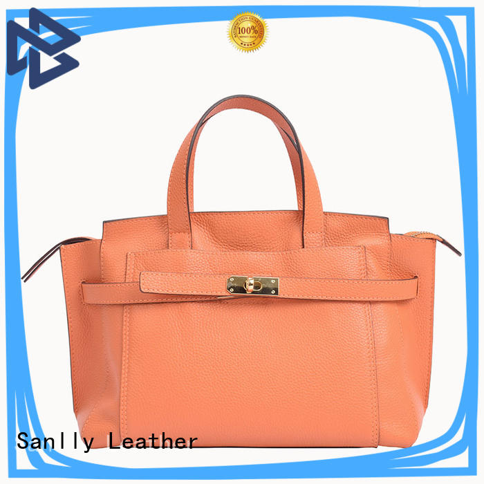 Sanlly Breathable leather pouches for women customization for girls