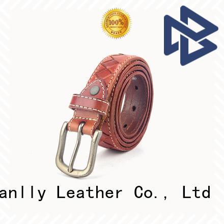 Sanlly design formal belt factory for modern men