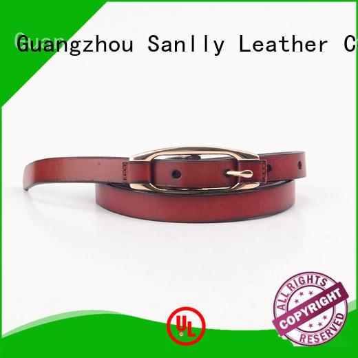 Sanlly full mens fashion belts supplier for girls