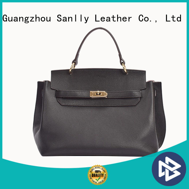Sanlly Top ladies leather handbags with price customization for shopping