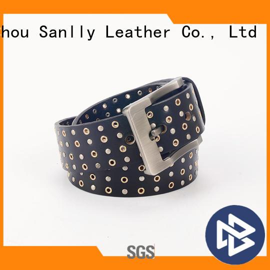 Sanlly funky mens designer formal belts supplier for shopping