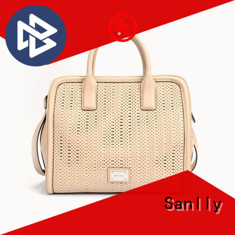 Sanlly High-quality leather bag price factory