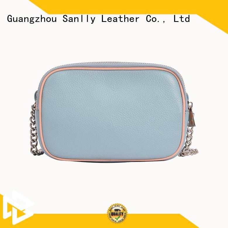 funky single strap leather shoulder bag bulk production for women Sanlly