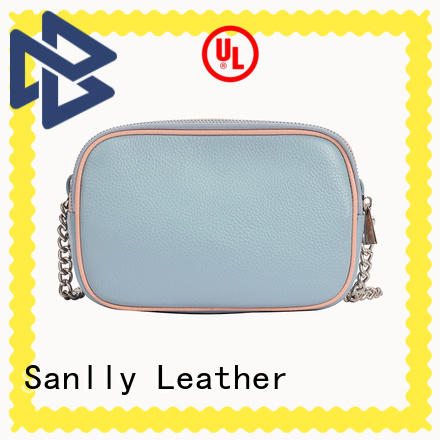 Sanlly real leather shoulder bag women's for wholesale for girls
