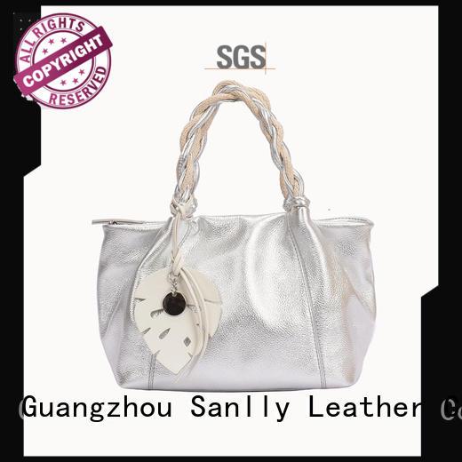 design women's leather handbags customization for girls