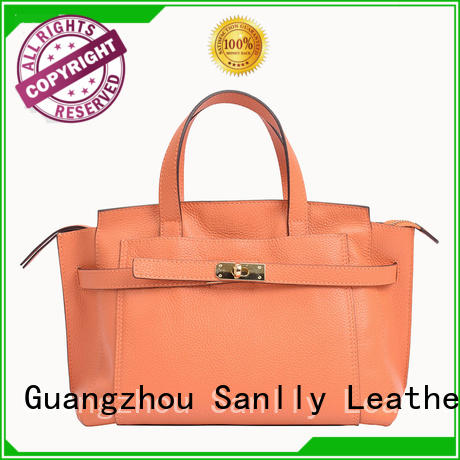 Sanlly business lady bag customization for shopping