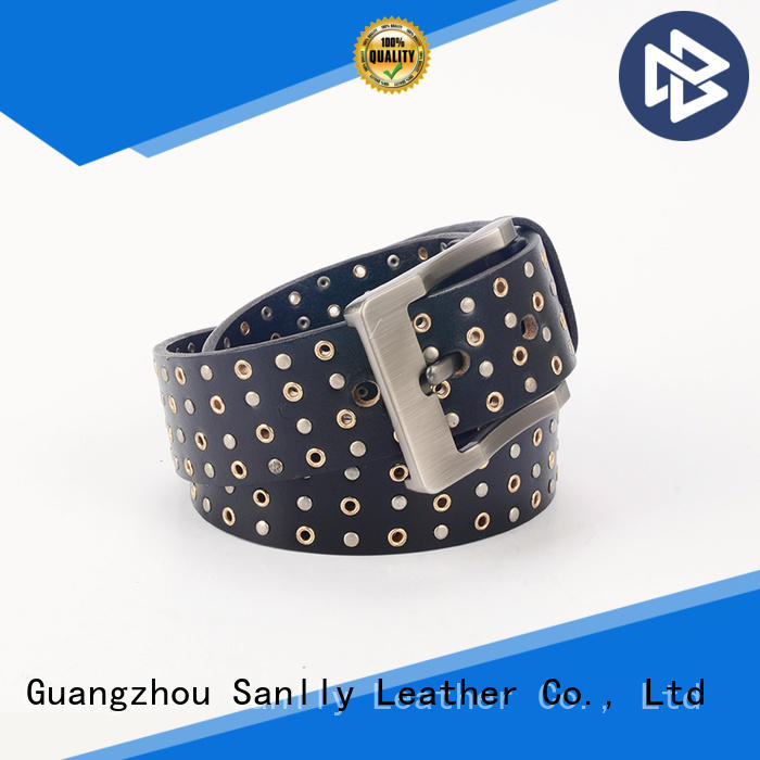 High-quality black and gold designer belt modern supplier for men