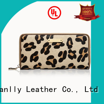 Sanlly haircalf best womens wallet ODM for girls
