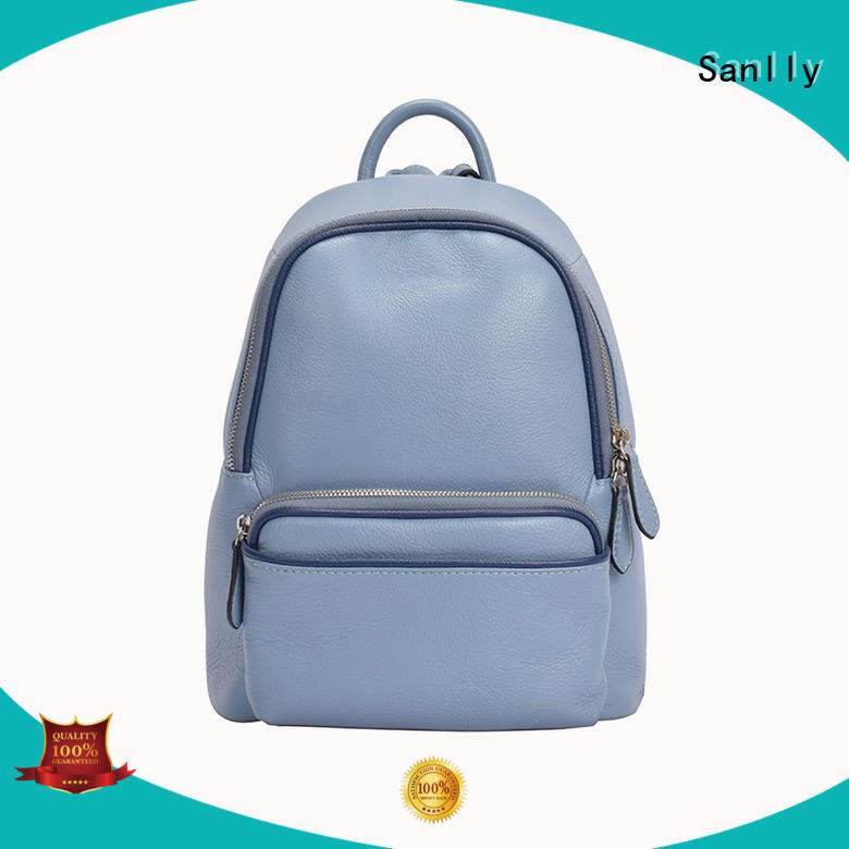 Sanlly at discount best leather backpack womens for wholesale for shopping