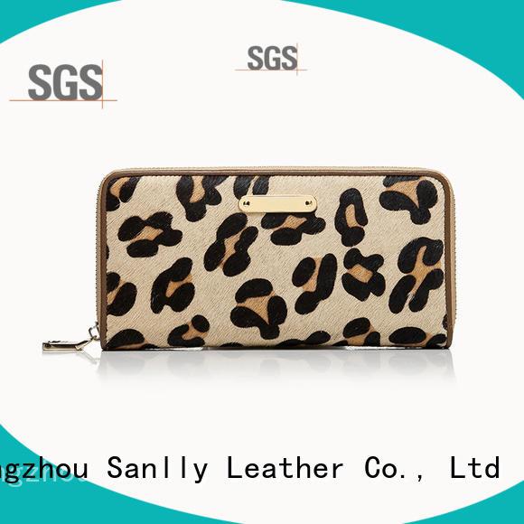 durable leather zip wallet women's zip customization for modern women