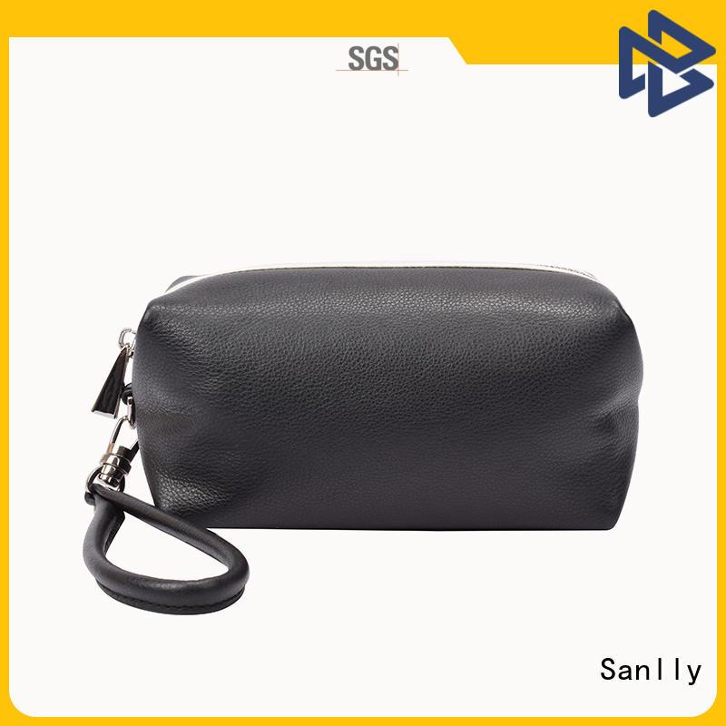 Sanlly women small wristlet wallet for business for women