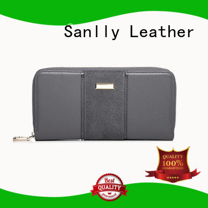 Sanlly pebble soft leather wallet womens supplier for modern women