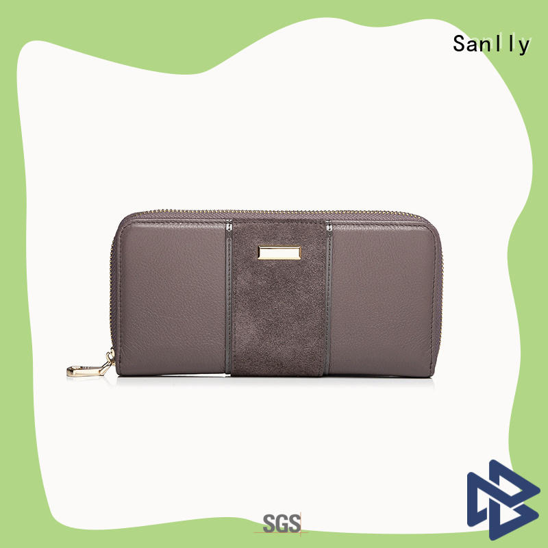 Sanlly womens girls leather wallet for wholesale for girls