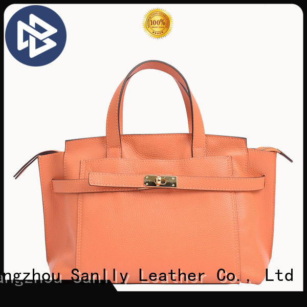 Sanlly at discount women's leather handbags OEM for women