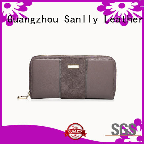 Sanlly lady womens phone wallet bulk production for single shoulder