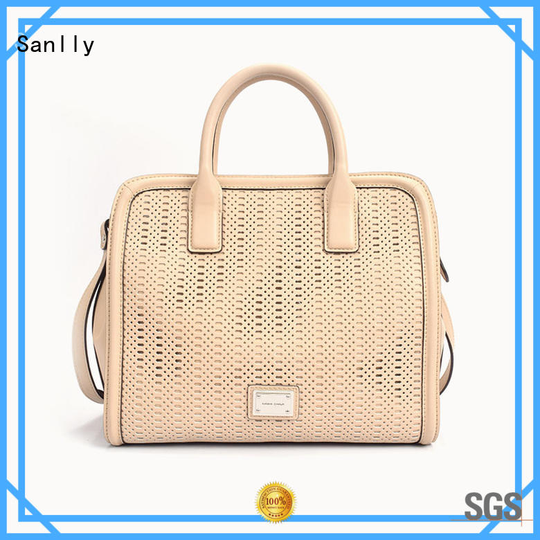 Sanlly lady best leather bags for women free sample for modern women