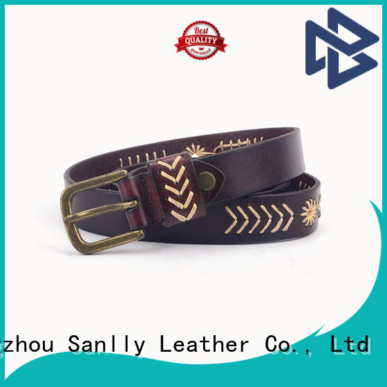 Sanlly punk mens casual leather belt get quote for girls