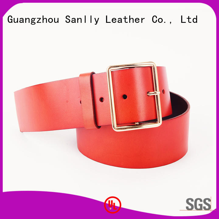 Sanlly quality mens full leather belts get quote for girls