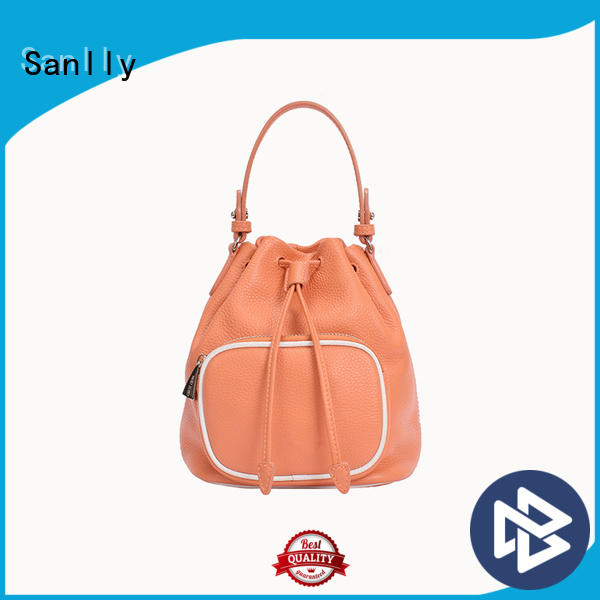 Sanlly Breathable womens leather tote bag bulk production for shopping