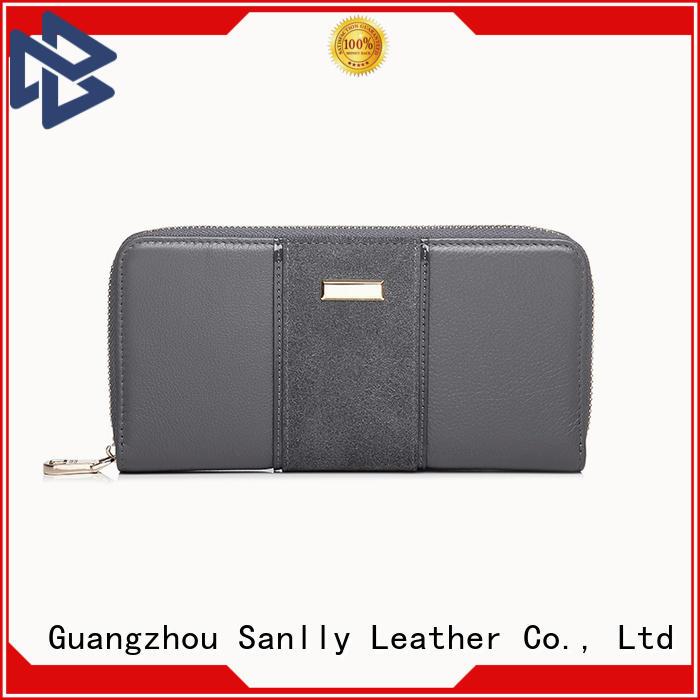Sanlly on-sale womens bifold wallet bulk production for women