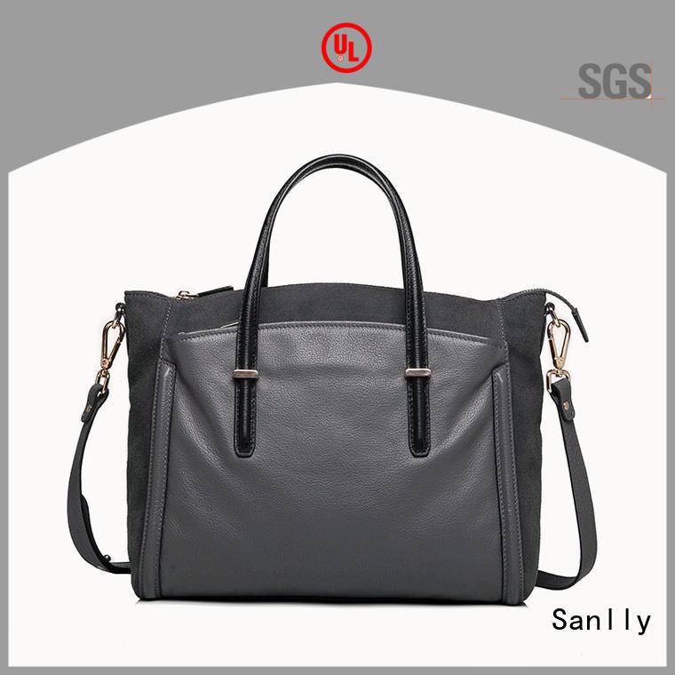 leather tote handbags women for modern women Sanlly