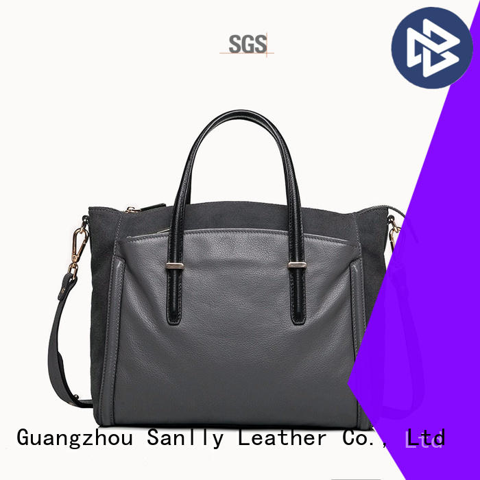Sanlly portable tooled leather handbags quality for shopping