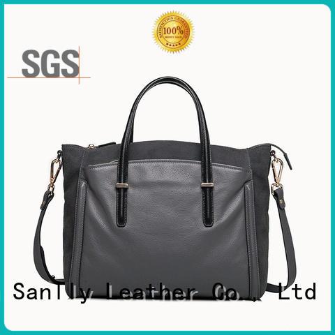 Classic Soft Pebble Cow Women's Large Leather Handbags