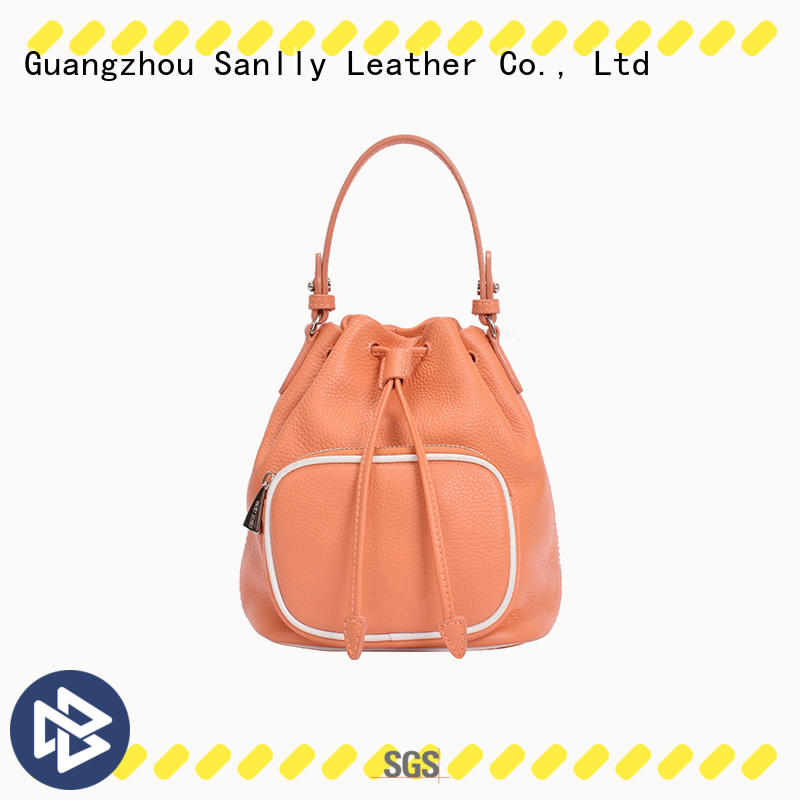 casual womens leather tote bag customization for shopping Sanlly