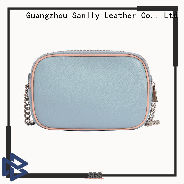 High-quality ladies leather shoulder bags sale leather bulk production for shopping