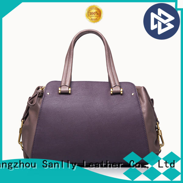 Sanlly business ladies black leather bag buy now for modern women