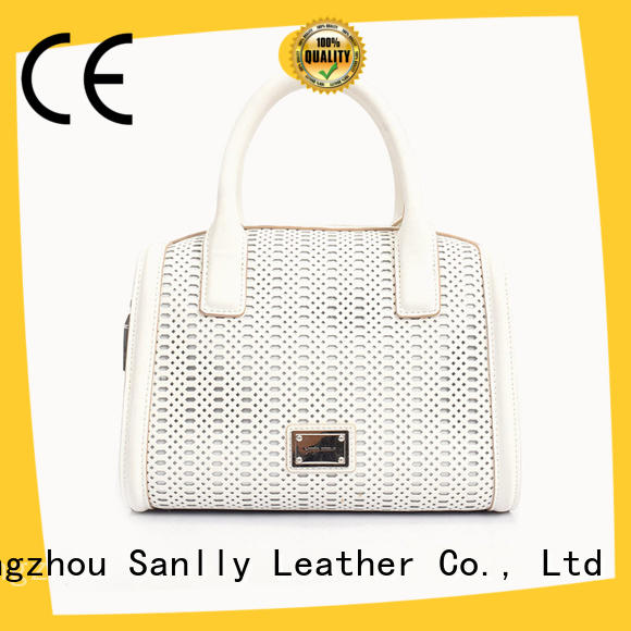 Sanlly eyelet handbags for less ODM for women