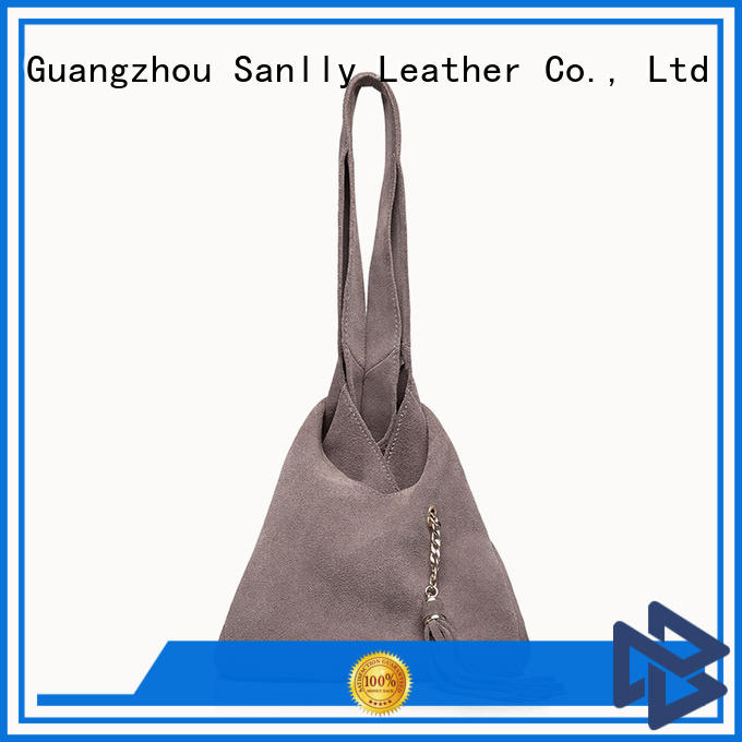 lightweight leather tote bags womens for shopping Sanlly