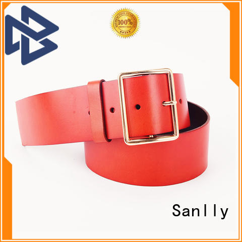 durable expensive mens leather belts solid OEM for girls