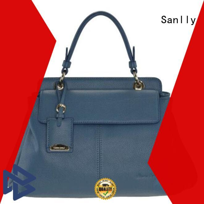 Sanlly leather ladies handbags 2016 stylish for summer