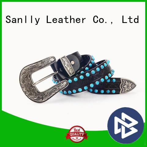 Sanlly high-quality accessorize belts bulk production