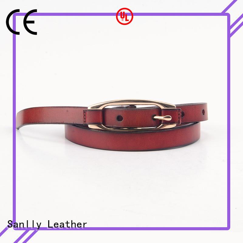 Sanlly leather buy brown belt buy now for modern men