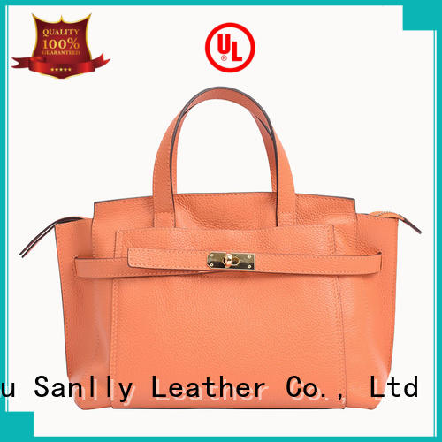 durable medium leather purse metal for wholesale for modern women
