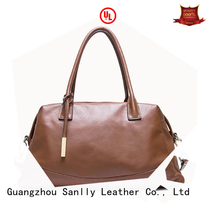 Sanlly genuine women's leather handbags OEM