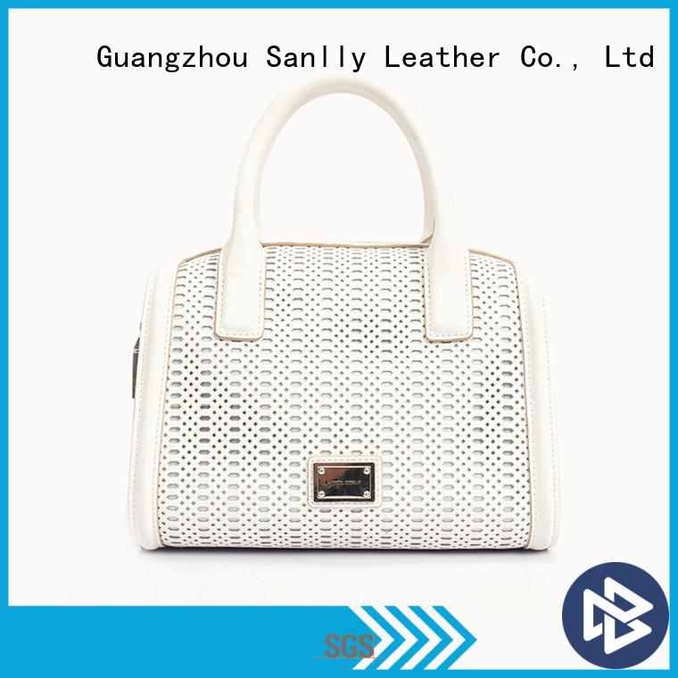 Sanlly shopping stylish ladies bag bulk production for shopping