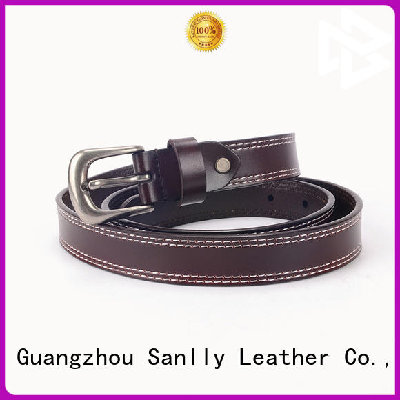 durable mens casual leather belt business supplier for modern men