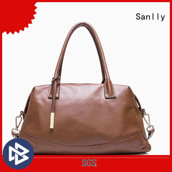 Sanlly customized womens leather tote handbags supplier for women