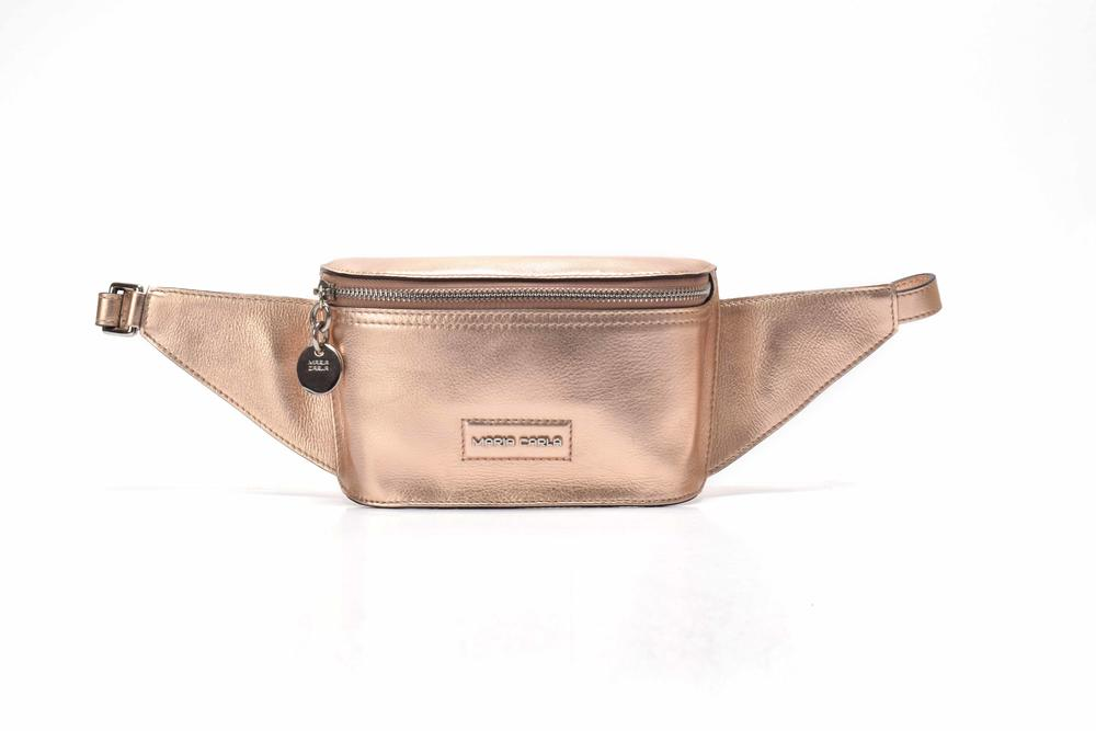Professional In stock leather waist bag for ladies  belt bag fashion waist bag for women