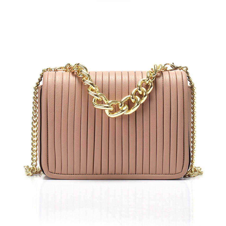 Best Quality Small Leather Crossbody /chain Crossbody /pleated crossbody