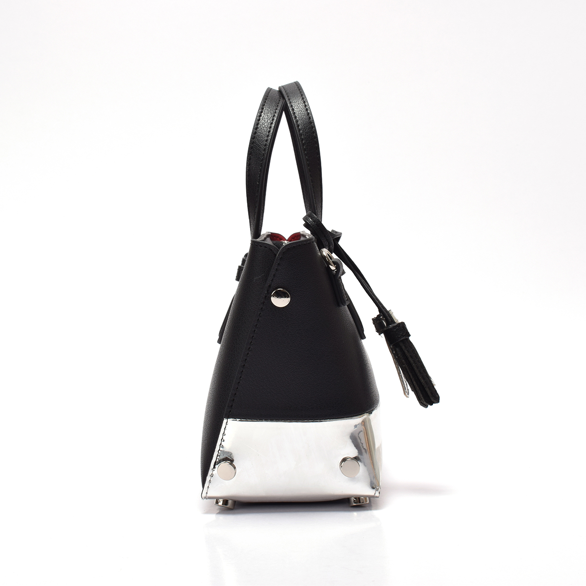 Sanlly High-quality blue leather handbags and purses for wholesale for women-1