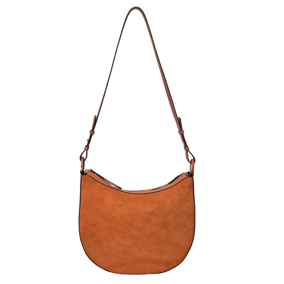 Leather crossbody for ladies shoulder handbag in genuine leather