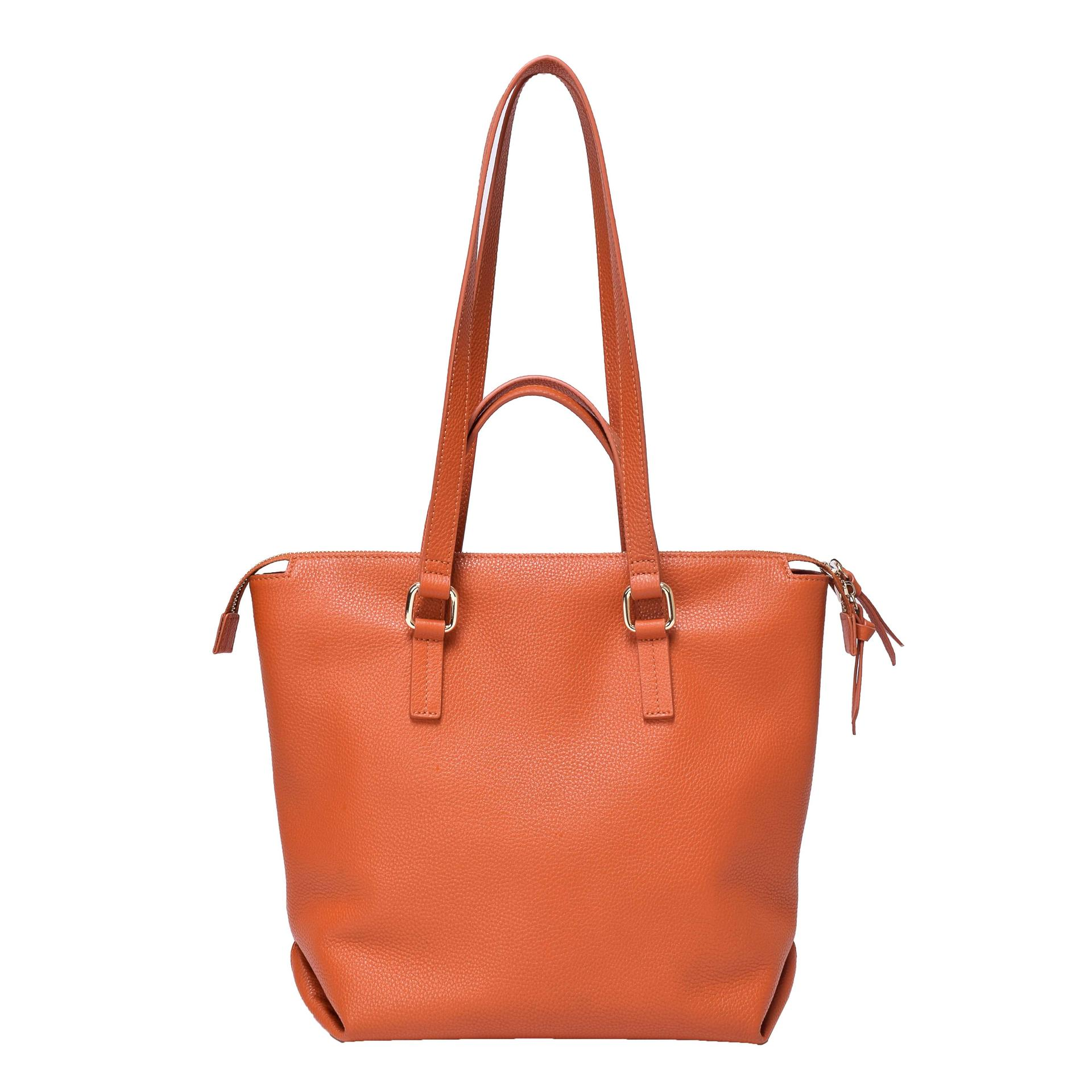 Leather tote bag shoulder handbag for ladies