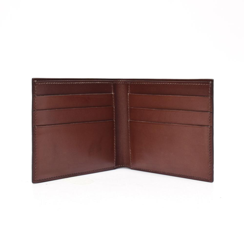 Men's leather wallet top quality leather wallet for Men doulbe fold wallet in leather