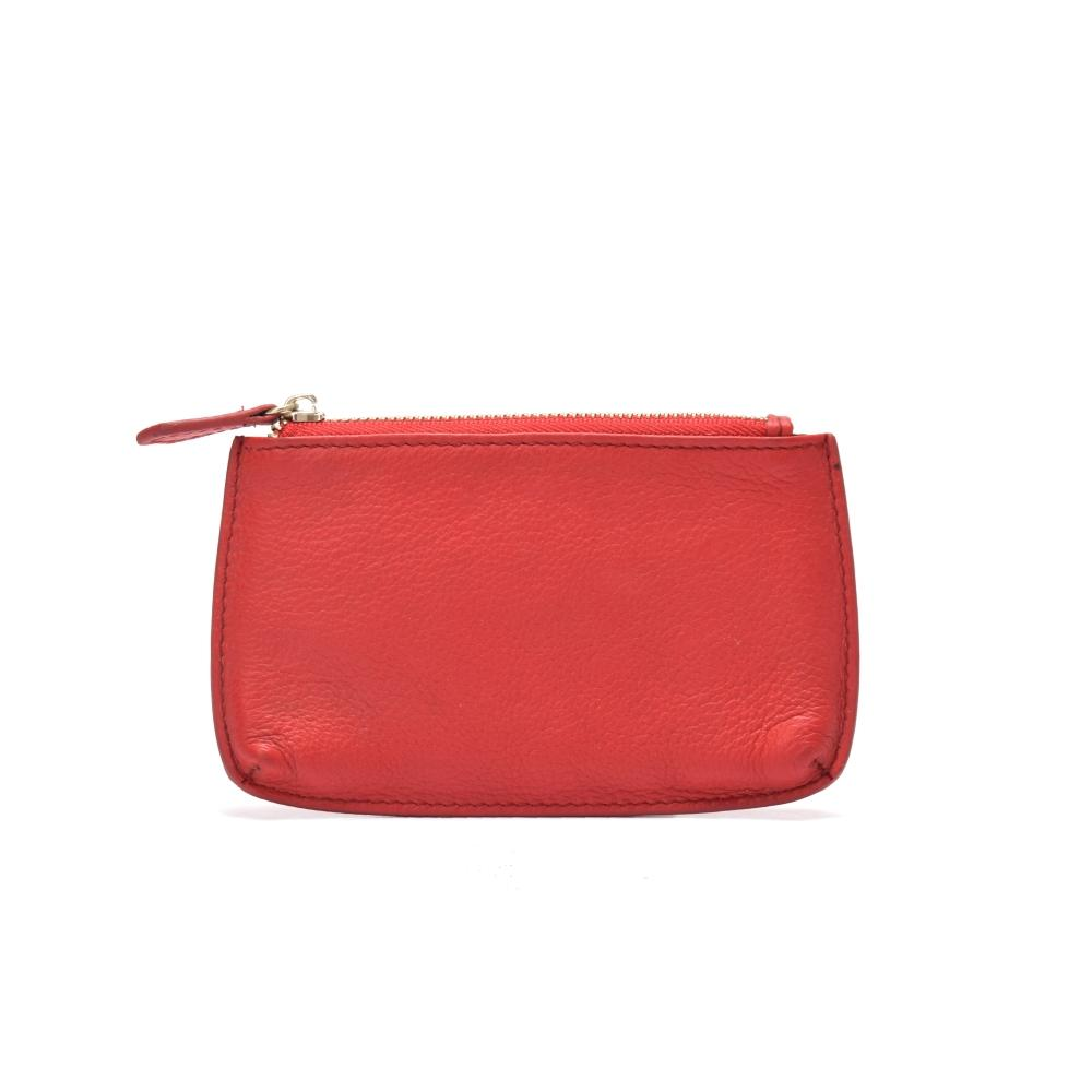 Ladies purse with zipper leather wallet for ladies leather purse top quality leahter purse red purse