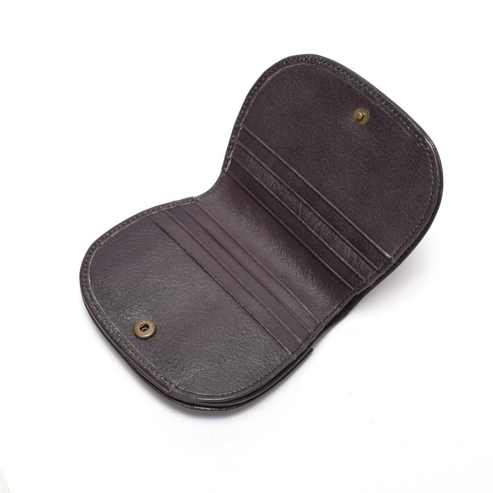 Mini momen's wallet mini wallet for ladies black leather wallet high quality leather wallet for women