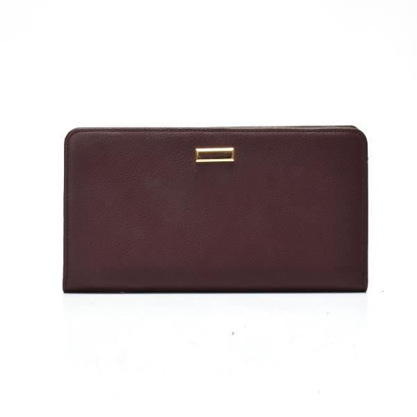 Leather women's wallet folded wallet for women in leather  women's wallet in leather
